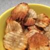 Jordskokke chips med salt