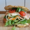 Sandwich med Ørred