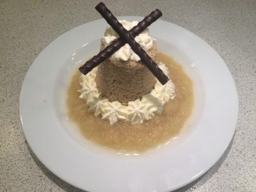 Mug cake med æble