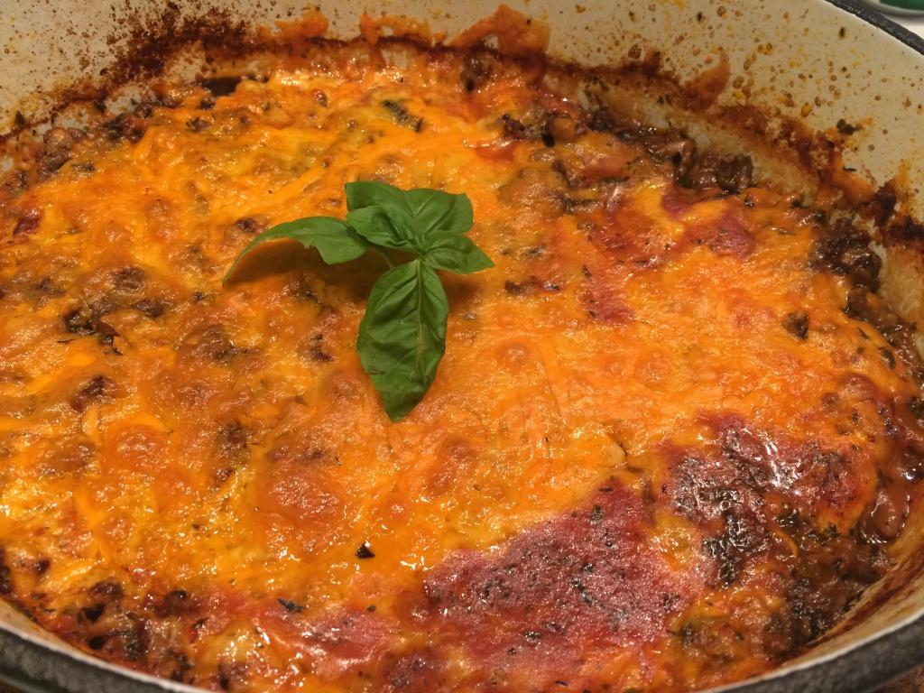 Hurtig aubergine lasagne