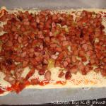 Pizza med Tun &  Løg & Pizza med Ristet Pølsestykker.
