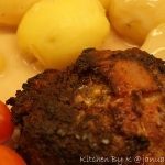 Hakkebøf med cheddar & bacon