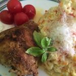 Kylling med karry-blomkålsris