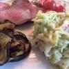 Roastbeef med cremet spidskål