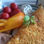 Morgen omelet