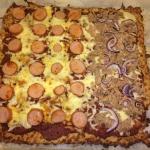 Pizza LCHF style på ostebollebund