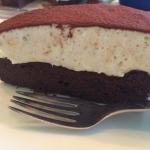 Chokolade-tiramisu kage